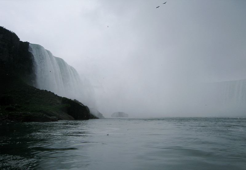 "Where the ""Mist"" in the name ""Maid of the Mist"" comes from."