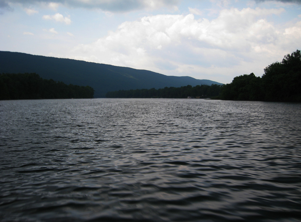 Susquehanna River, near where Dad lost his hat.  We actually found it on the return trip!
