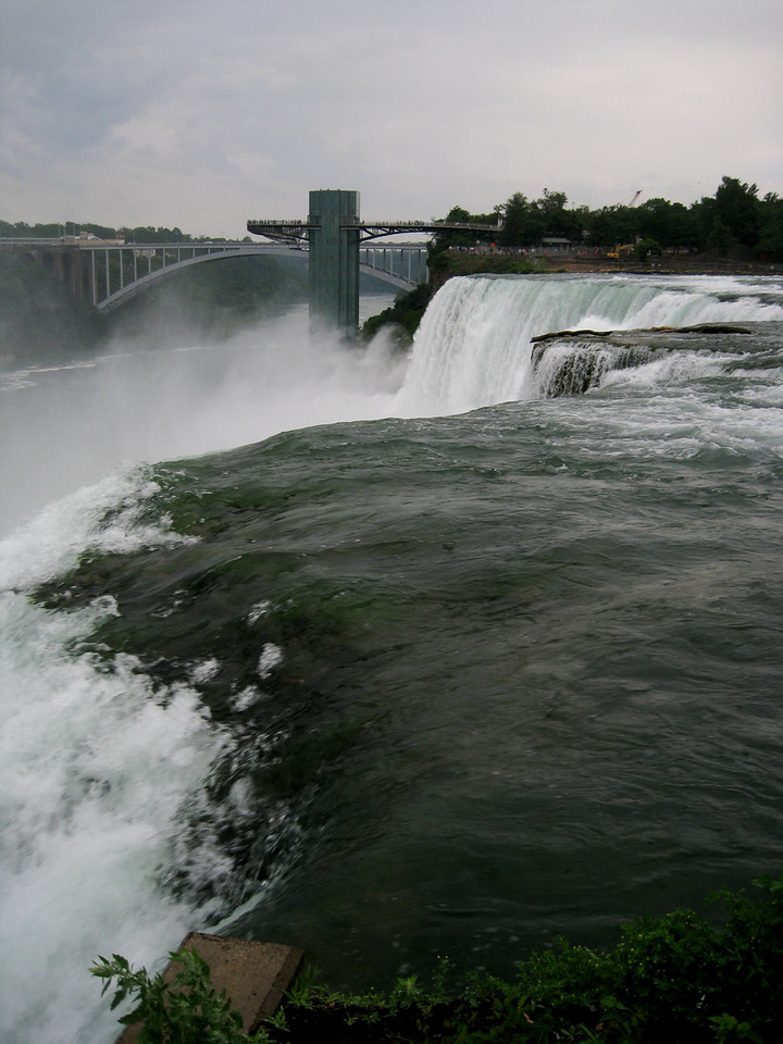 American Falls from the Goat Island observation deck.