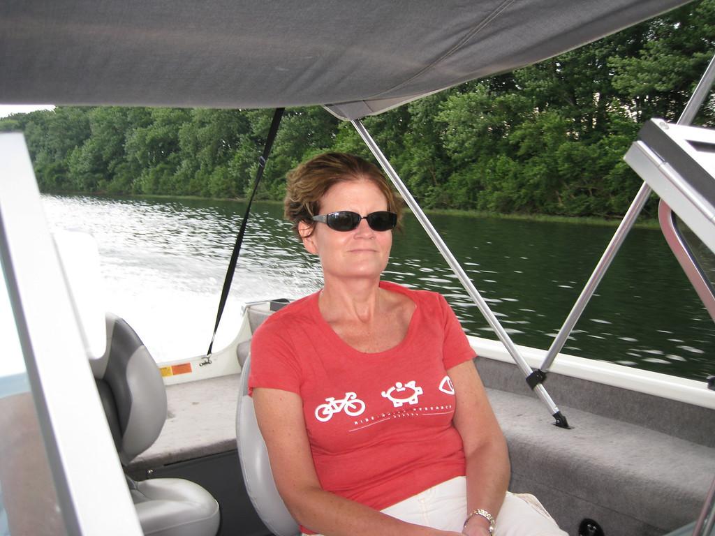 Jan, enjoying the ride!