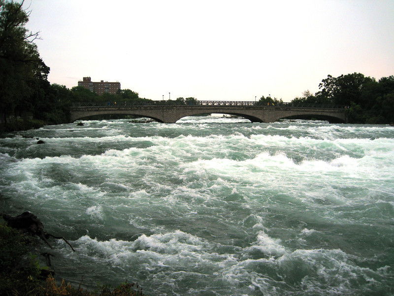 Another view just upstream of the cataract.