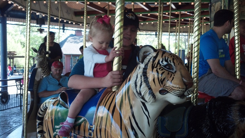 Ridin' the tiger with Uncle AL.
