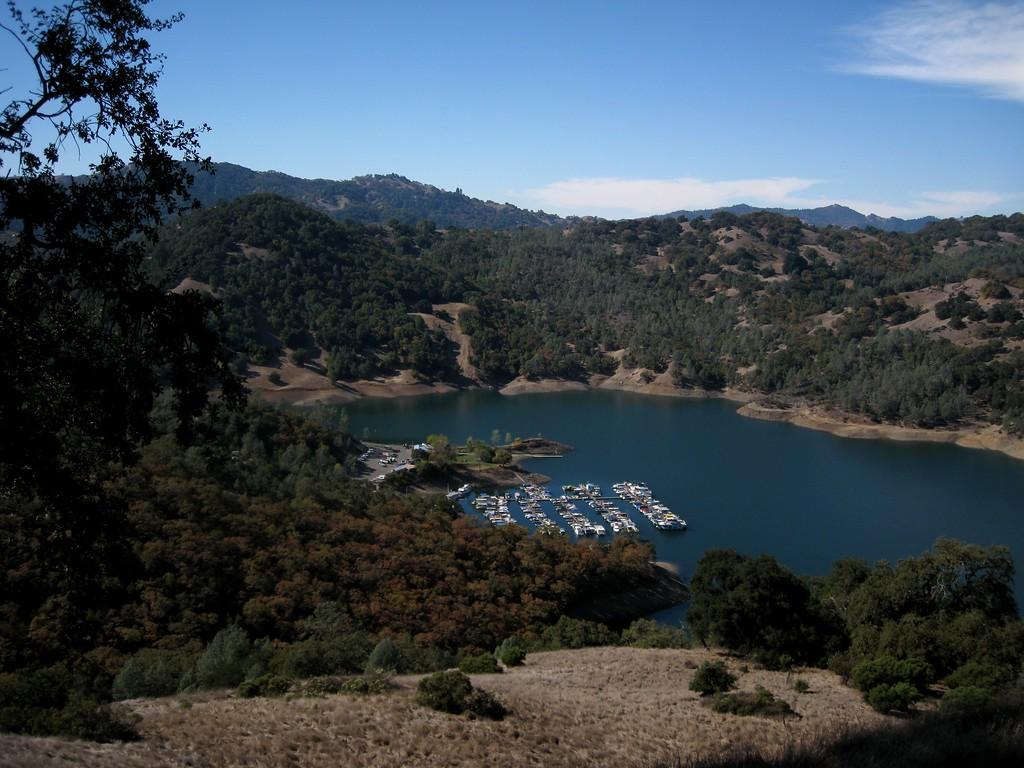 Lake Sonoma's Marina.