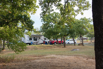 Our Campsite at Buzzards Roost