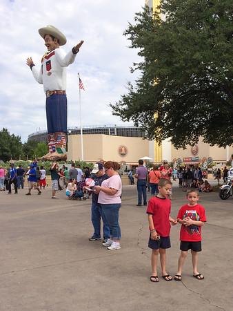 2013 - Tim - State Fair Superman Exhibit