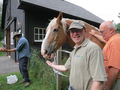 20130831 Wolfeboro: Visting a Farm