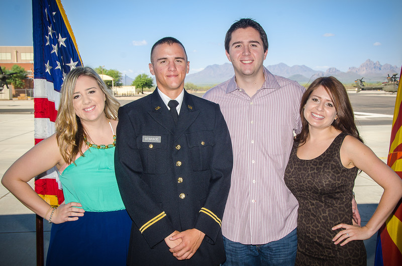 8.24.2013 - 2nd Lt. Anthony Starace's commissioning ceremony at the Western Army National Guard Aviation Training Site.