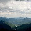 View from the spine of Mt. Jackson across Crawford Notch