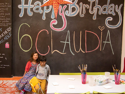Claudia's 6th Birthday at All Fired Up