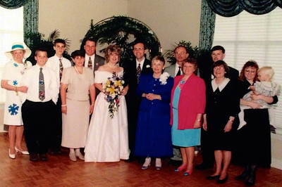 Powers/Guertin Family at our Wedding, May 1997