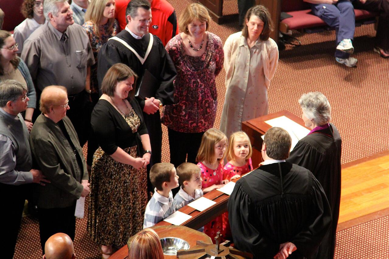 3/17 - Evans Baptism