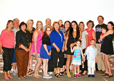 Family pics from Damien's birthday