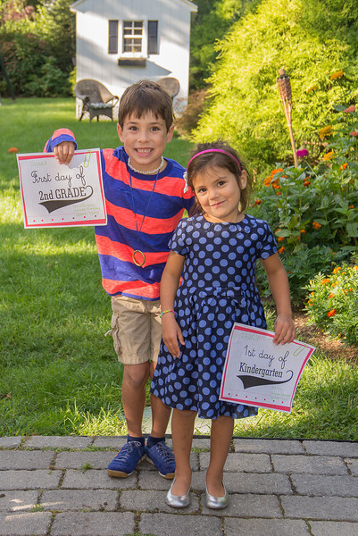 First Day of School - Sept 2013