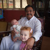 Mr. Walter, our good friend and language teacher, with Sienna and Seth