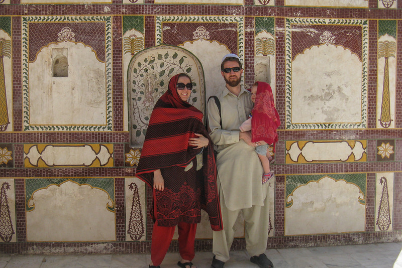 We visit the Katas Temple site with Julie, an ancient Hindu temple complex not far from Pindi