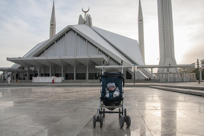 Seth at Faisal Mosque