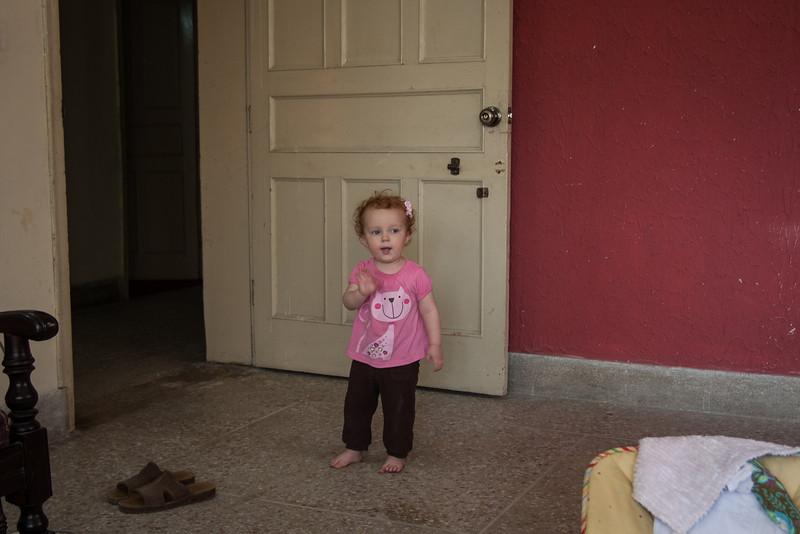"Sienna saying ""Bye bye!"""