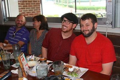 Matt with friends