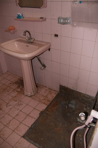 We had some major plumbing problems, including two toilets that had to be replaced