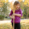 This rake is more for playing than for raking ;)