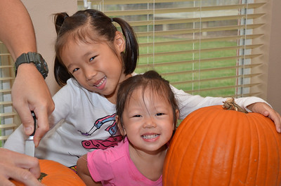 October 29, 2013 - Pumpkin Carving