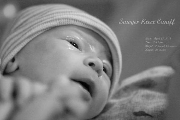 Sawyer's Birth - 4-27-2013