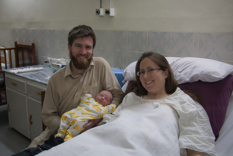 This was taken two hours after the surgery. Sienna was asleep and therefore not in this picture.