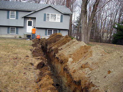 Sewer Work in Dracut
