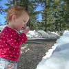 Fun in the snow (16 months)