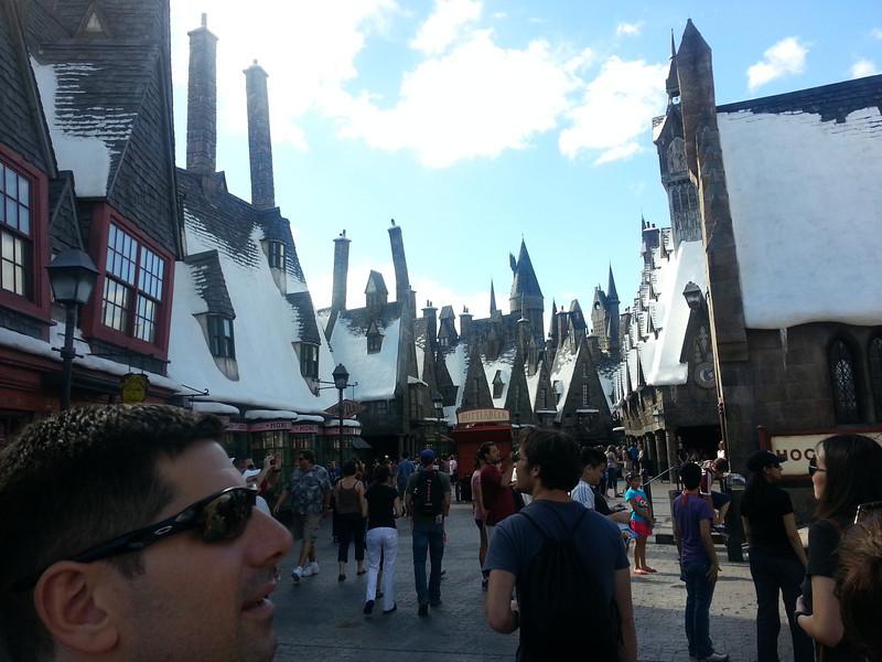 Hogsmeade!!!  Harry Potter land