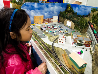 Model train exhibition
