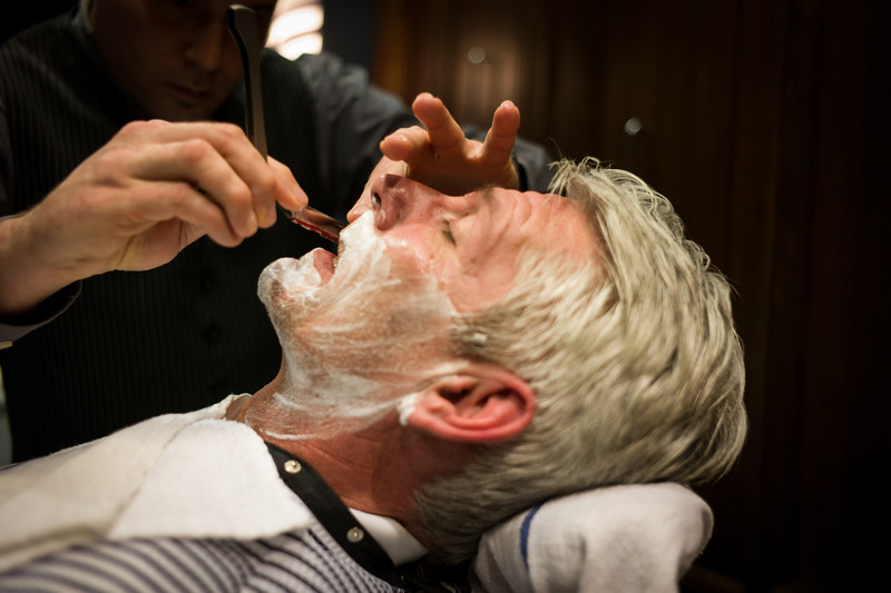 The Art of Shaving at Woodfield Mall in Schaumburg, Illinois on February 10, 2013. (Jay Grabiec)