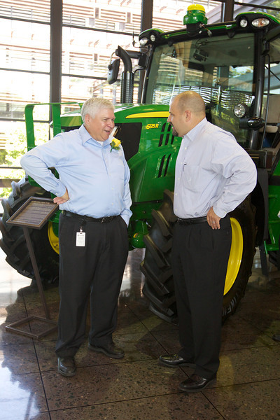 Larry Howell Retirement Coffee<br /> John Deere Worldwide Headquarters<br /> Display Floor
