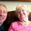 January 15, 2014 - David and Mum - Nice happy smiles!