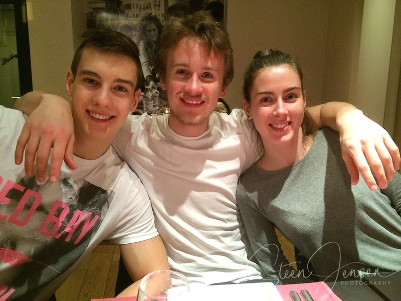 Julian, Frederik & Pernille
