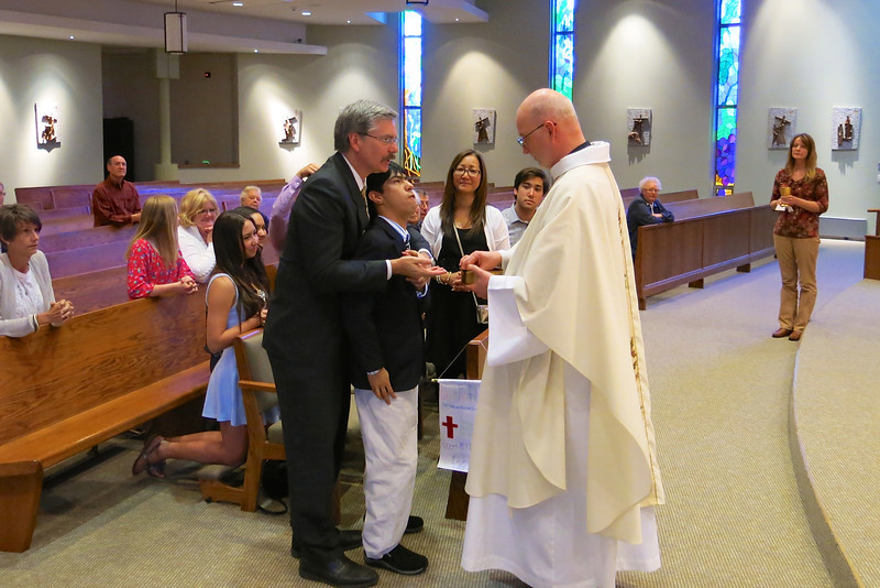 Bob Riffle's First Holy Communion 2 23