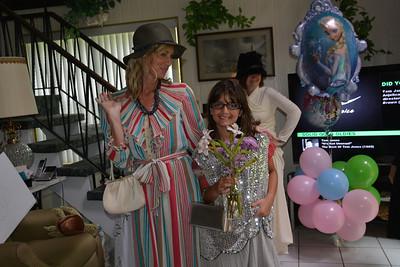 """Amanda and Jenny... """"The Great Gatsby"""" look."""
