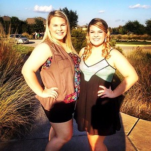 2014 10-18 Kendall's homecoming & Shelby