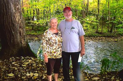 Sandy & Gerald Gastley Cherokee, NC  10-13-14