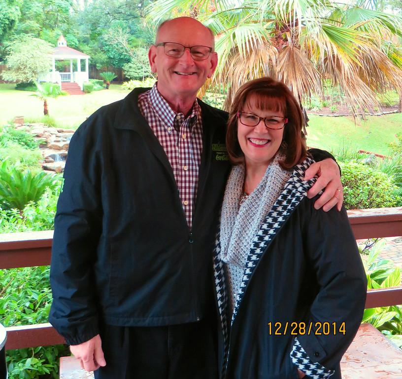 Russell & Ann Bellmor Brennan's On The Bayou Houston TX 12/28/14
