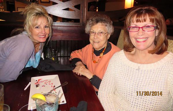 Karen Ledford, Lois Snyder & Ann Bellmor November 30, 2014