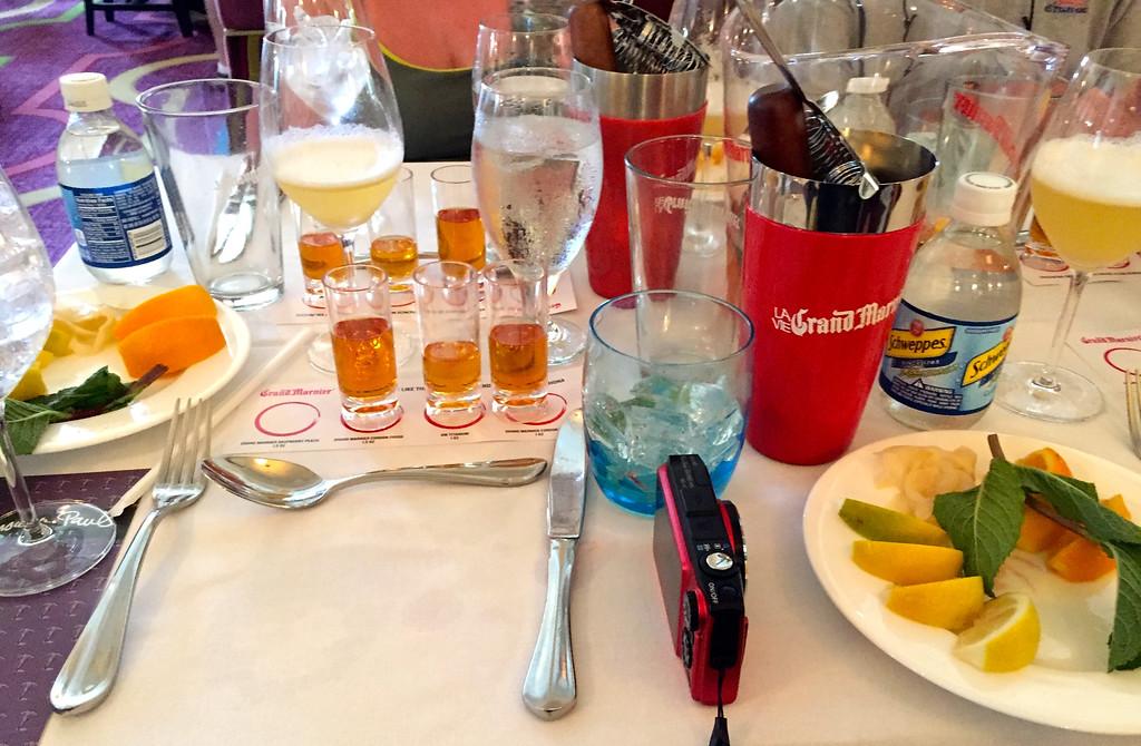 Grand Marnier Tasting At Disney World September 2014 01