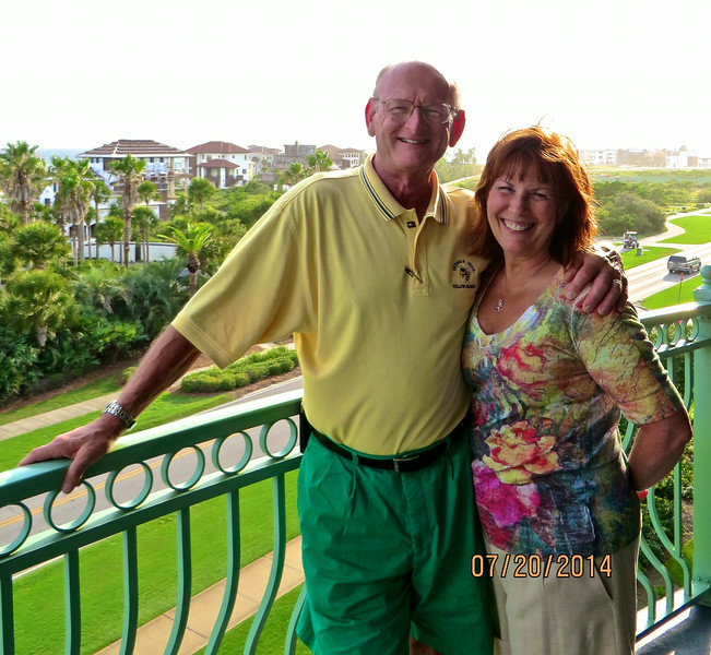 Russell & Ann Bellmor Seacrest Beach View From Condo July 2014 01