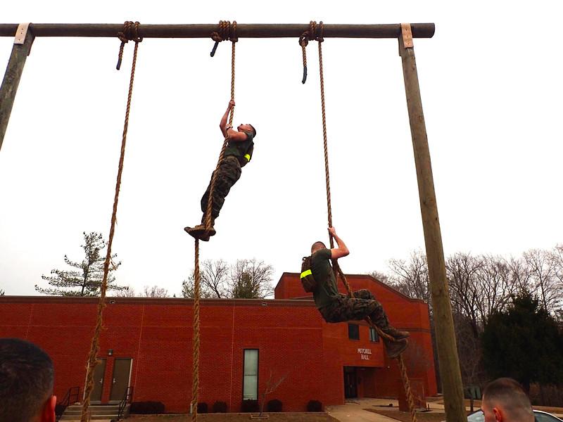 Morgan Bellmor At Marine Corps TBS E Course Orientation December 2014 01
