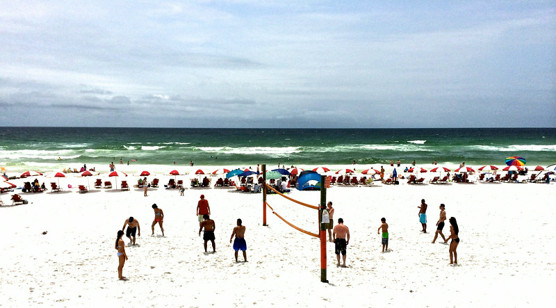 Volleyball At Pompano Joe's Destin Florida July 2014