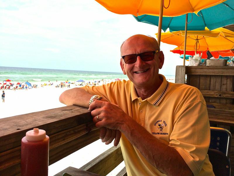 Russell Bellmor At Pompano Joe's Destin Florida July 2014