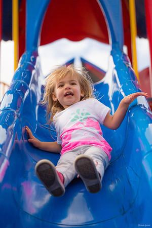 2014 - Brynn at the playground
