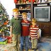 Spencer, Matthew, Bryan, Christmas afternoon 2014 at Grandma and Grandpa's