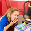 March 8, 2014 - Family dinner for Carley Mac's 7th birthday.