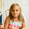August 11, 2014 - Carley Mac's first week of 2nd grade homeschool.